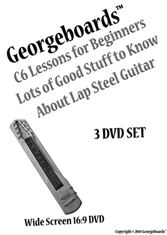 lap steel guitar lesson 3 dvd set lots of good stuff to know